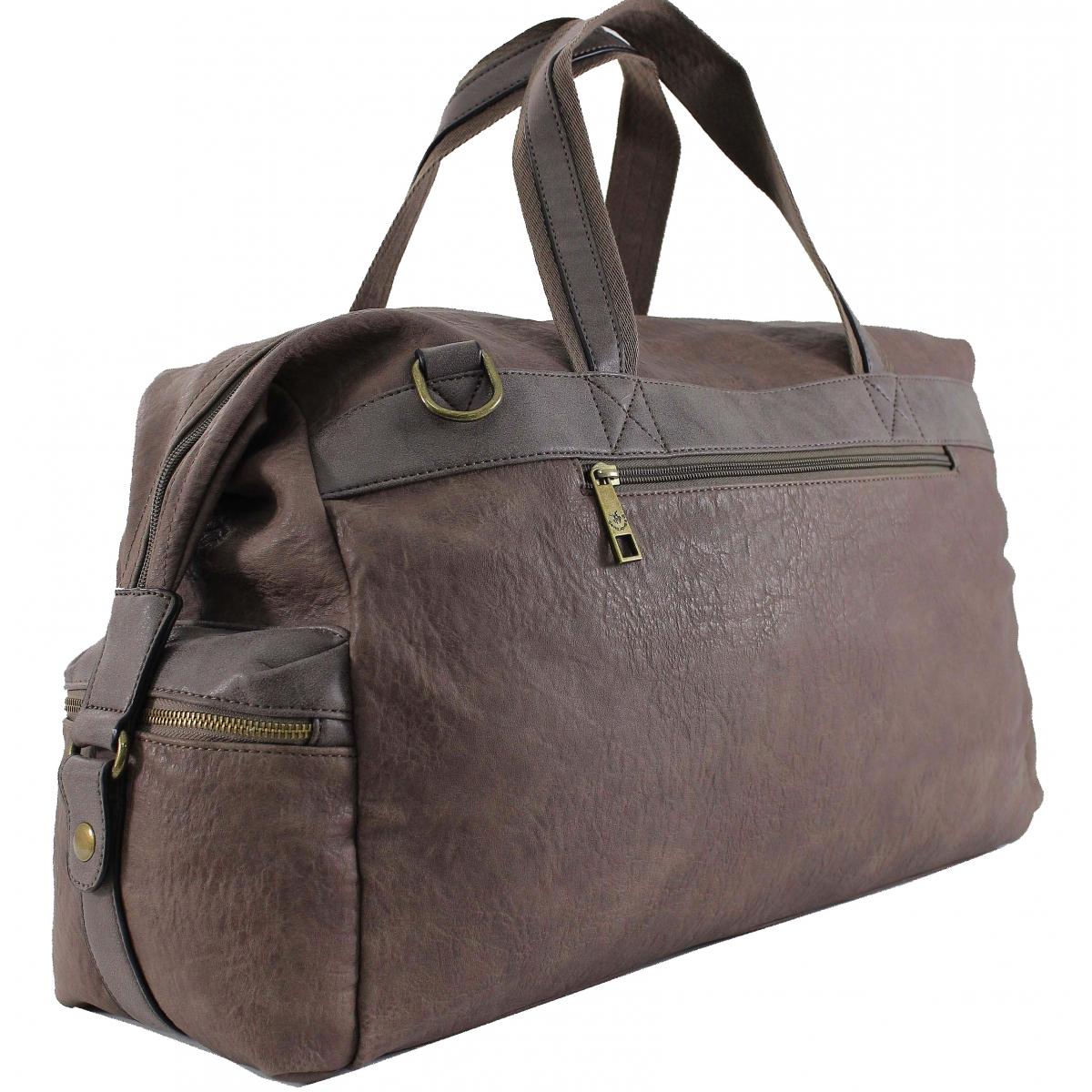 sac de voyage 48h david jones djcm0798a couleur principale d taupe solde. Black Bedroom Furniture Sets. Home Design Ideas
