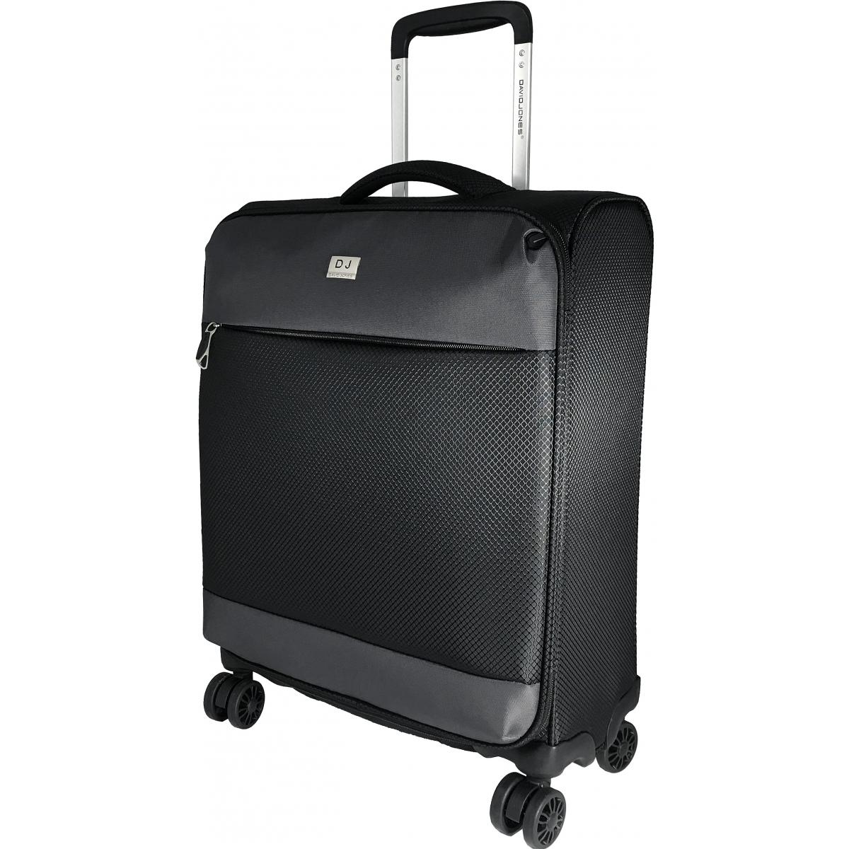 valise cabine souple david jones 53 cm noir ba50441p couleur principale noir valise. Black Bedroom Furniture Sets. Home Design Ideas