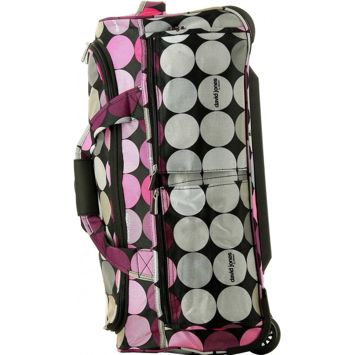 sac de voyage roulettes david jones taille s ba60221s couleur principale rond promotion. Black Bedroom Furniture Sets. Home Design Ideas