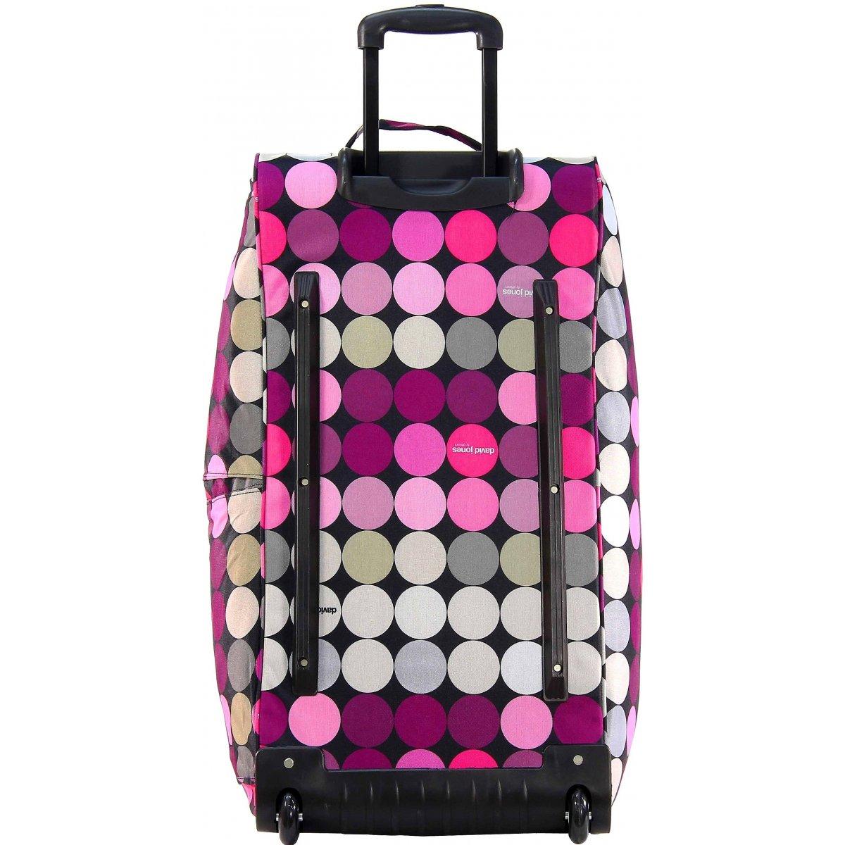 sac de voyage roulettes david jones b10001l couleur principale ronds promotion. Black Bedroom Furniture Sets. Home Design Ideas