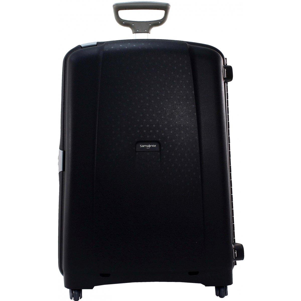 valise samsonite aeris spinner 75cm aeris36 couleur principale noir solde. Black Bedroom Furniture Sets. Home Design Ideas