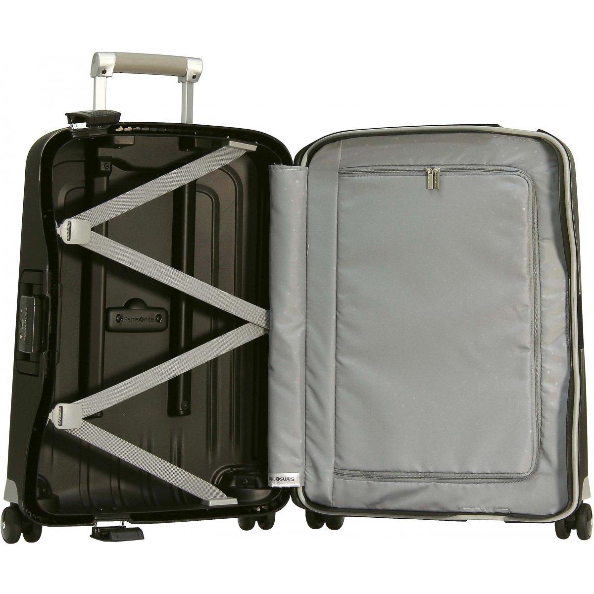 valise cabine samsonite s 39 cure spinner 55cm scure39 couleur principale noir valise pas. Black Bedroom Furniture Sets. Home Design Ideas