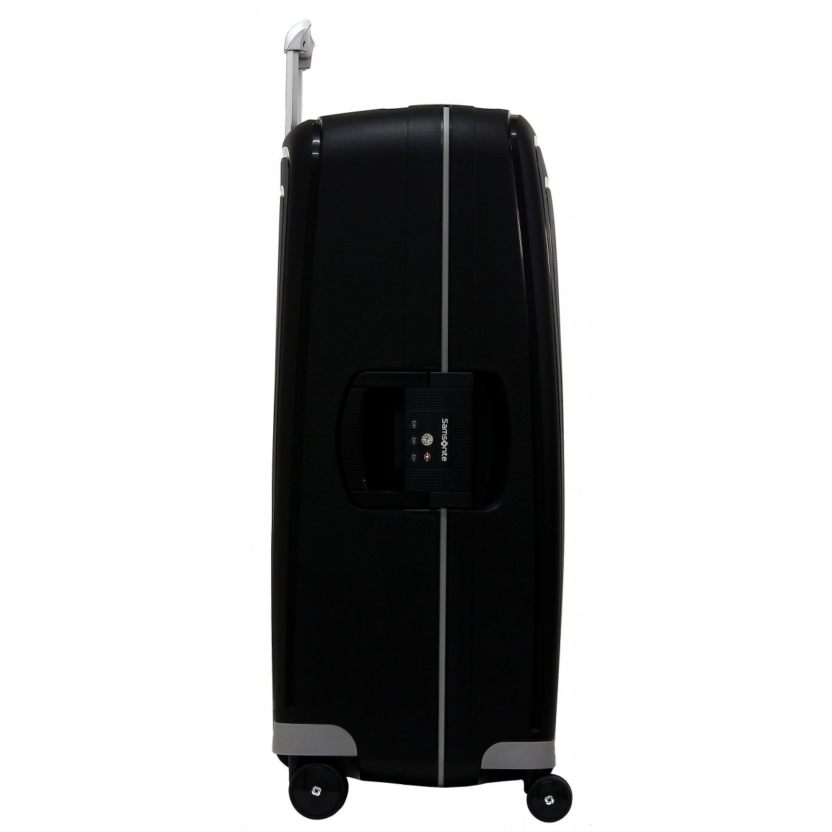 valise samsonite s 39 cure spinner 75cm scure08 couleur principale noir promotion. Black Bedroom Furniture Sets. Home Design Ideas