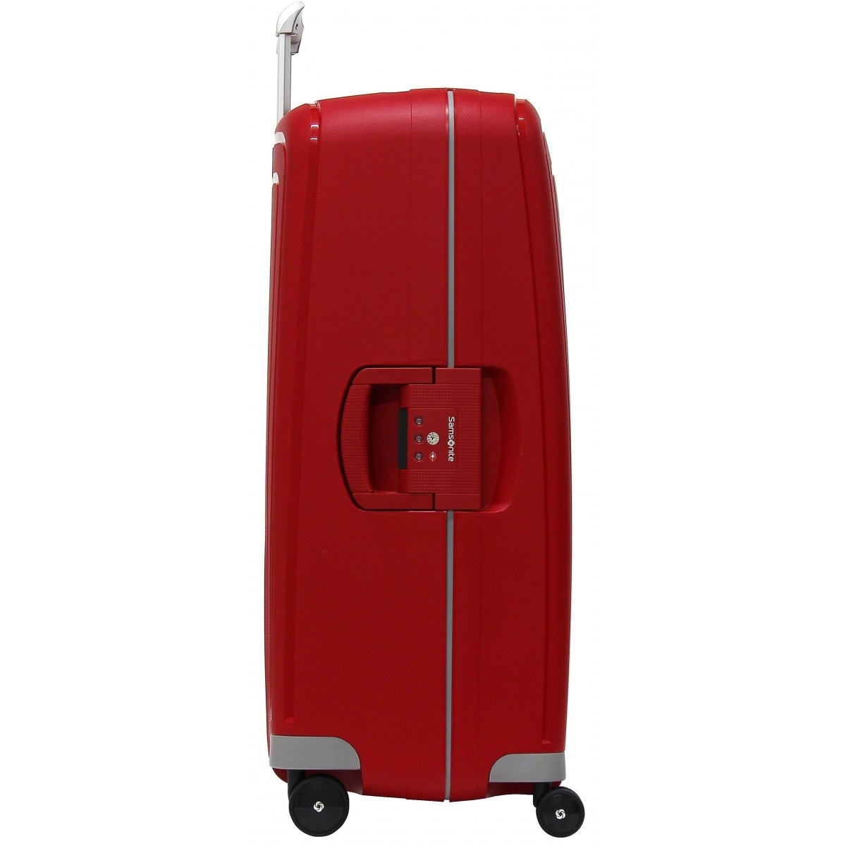 valise samsonite s 39 cure spinner 75cm scure08 couleur principale rouge promotion. Black Bedroom Furniture Sets. Home Design Ideas