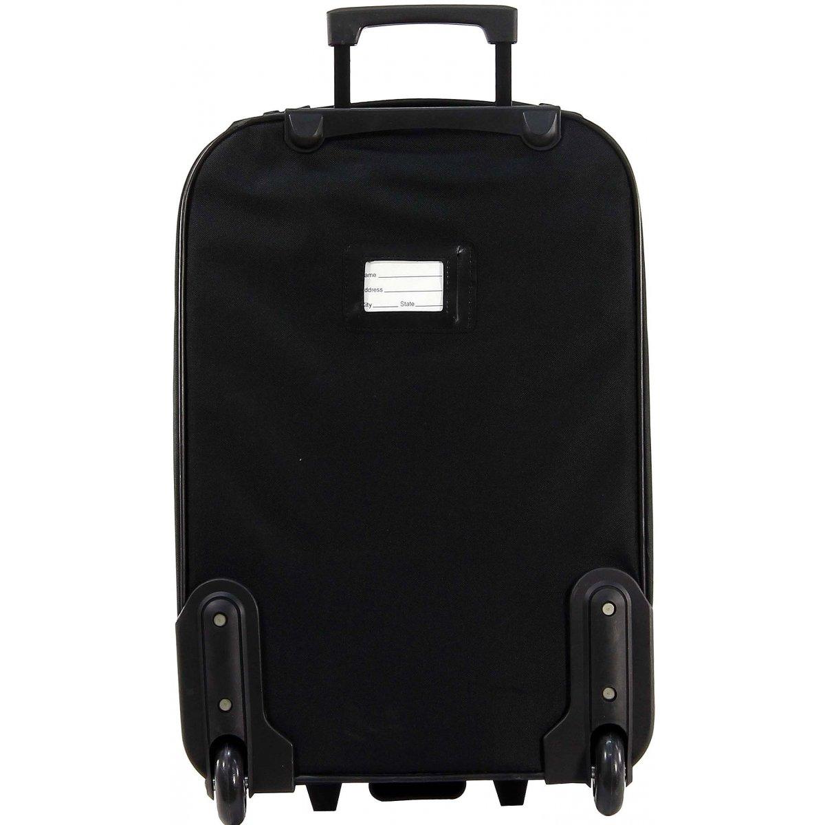 valise cabine ryanair et un reporter david jones ba40102 couleur principale noir promotion. Black Bedroom Furniture Sets. Home Design Ideas