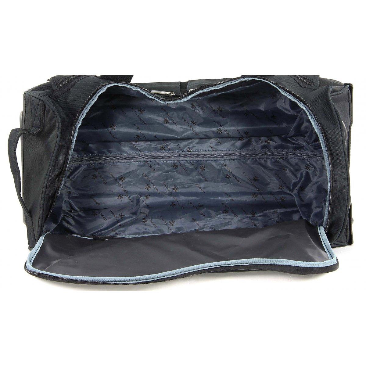 sac de voyage roulettes david jones b10001s couleur. Black Bedroom Furniture Sets. Home Design Ideas