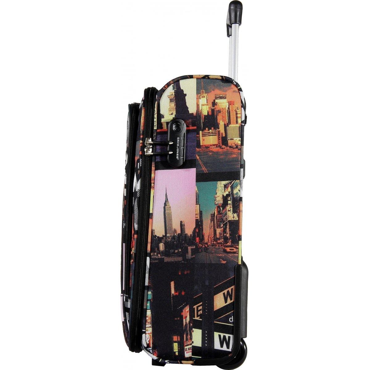 valise cabine ryanair david jones r20031 couleur principale new york promotion. Black Bedroom Furniture Sets. Home Design Ideas