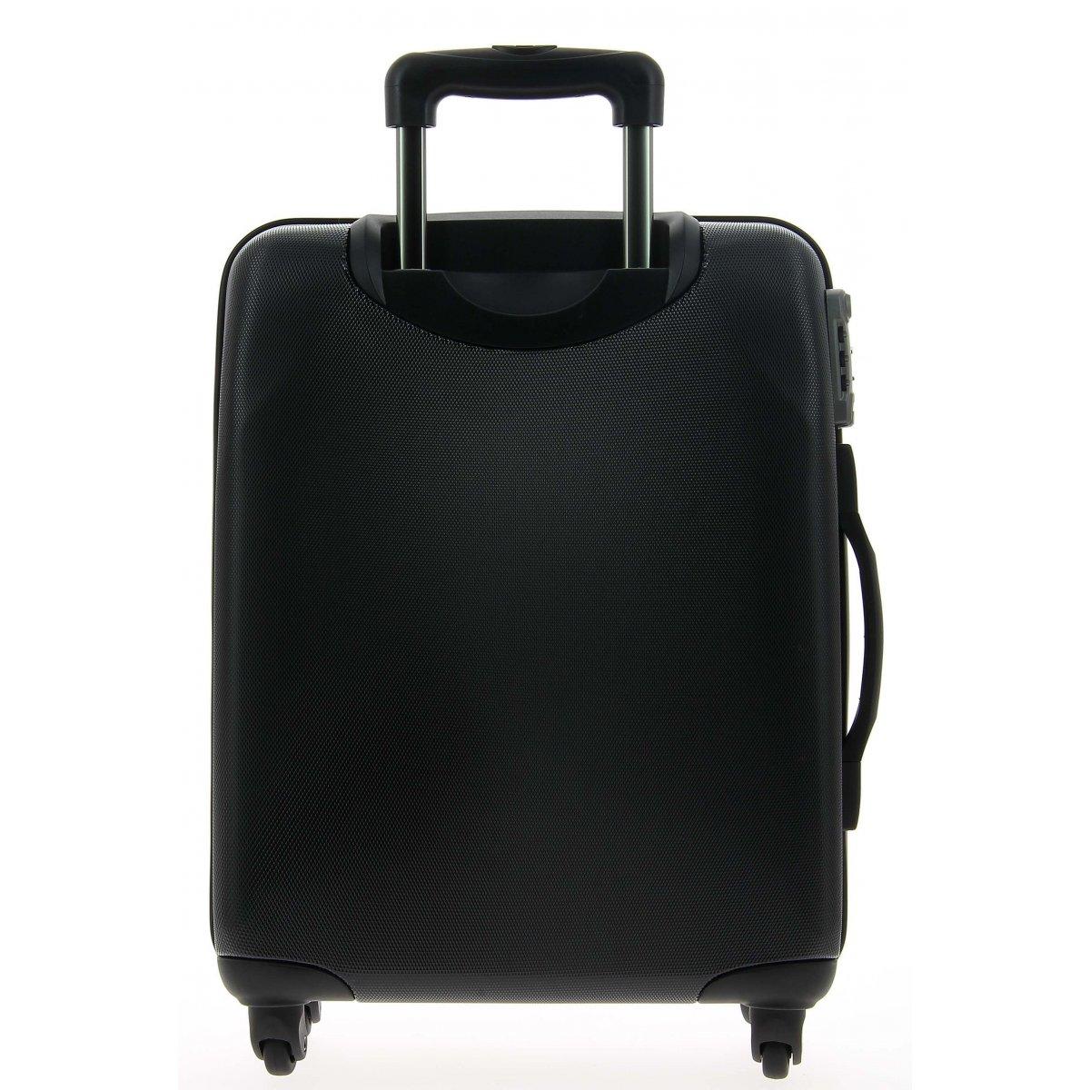 valise cabine delsey shedule 802 schedule802 couleur principale noir promotion. Black Bedroom Furniture Sets. Home Design Ideas