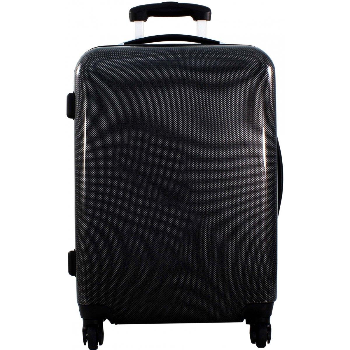lot 3 valises dont 1 cabine ryanair david jones ba2033 couleur principale black squares. Black Bedroom Furniture Sets. Home Design Ideas