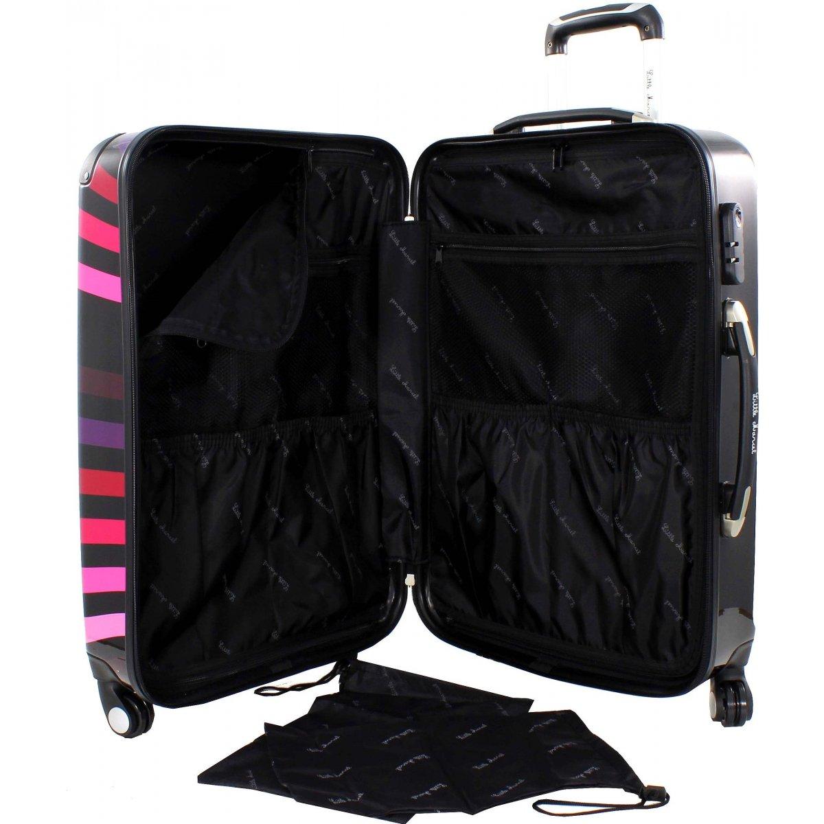 lot 3 valises 1 vanity little marcel marne50 couleur principale marne50 promotion. Black Bedroom Furniture Sets. Home Design Ideas