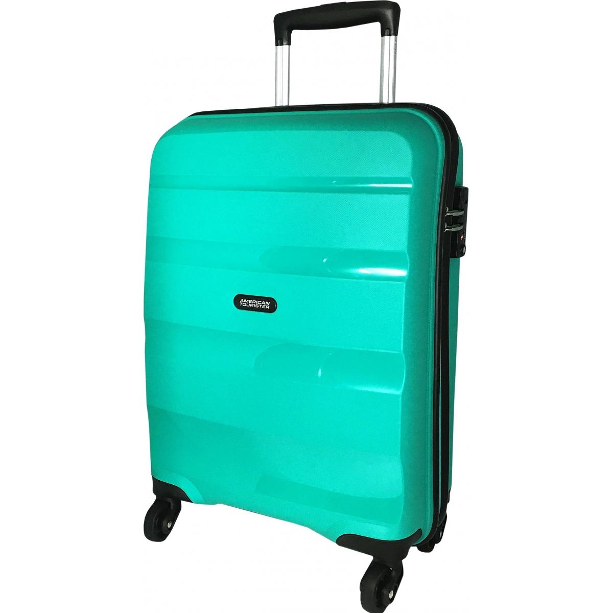 valise cabine bon air american tourister 55cm bonair22 couleur principale vert valise. Black Bedroom Furniture Sets. Home Design Ideas
