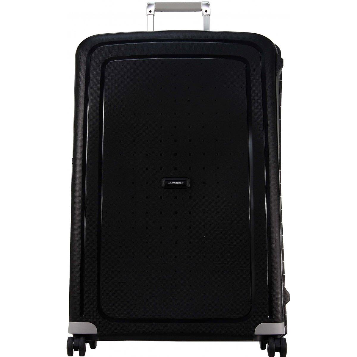 valise samsonite s 39 cure spinner 81cm scure44 couleur principale noir valise pas cher. Black Bedroom Furniture Sets. Home Design Ideas