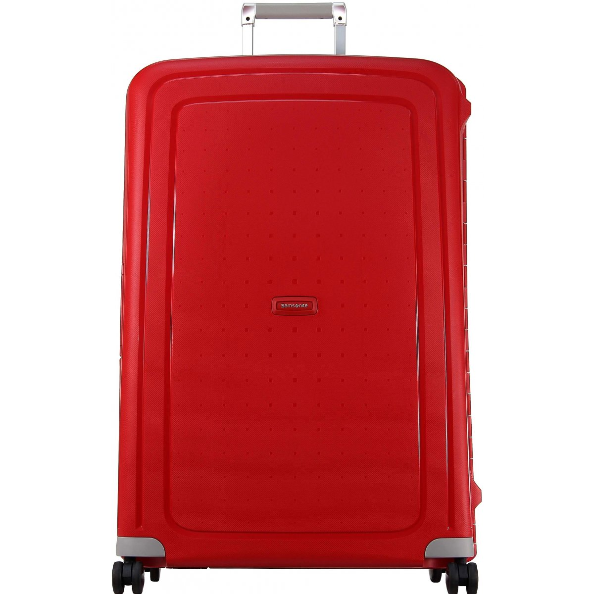 valise samsonite s 39 cure spinner 81cm scure44 couleur principale rouge solde. Black Bedroom Furniture Sets. Home Design Ideas