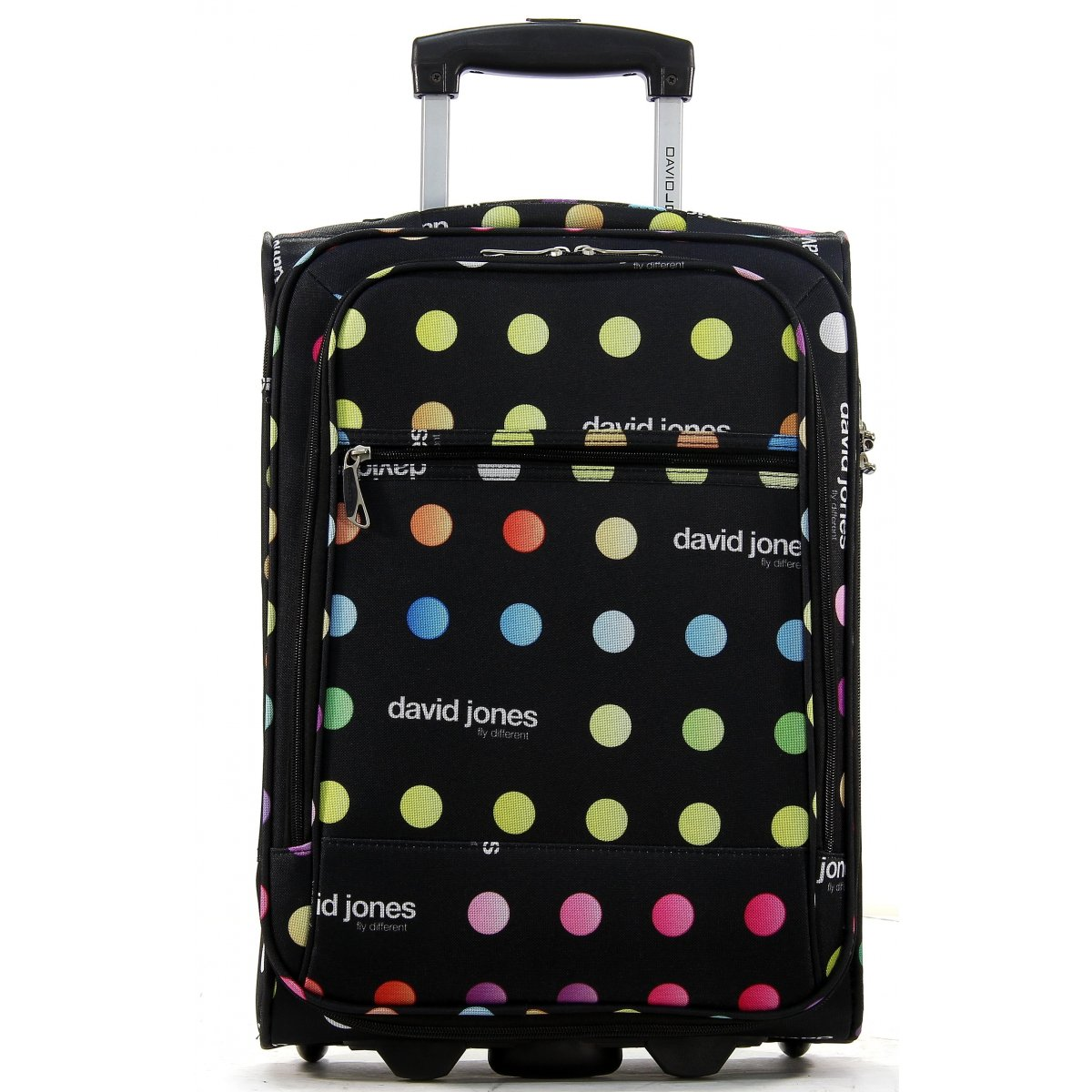 valise cabine ryanair david jones taille 50 cm r20031p couleur principale pois valise. Black Bedroom Furniture Sets. Home Design Ideas
