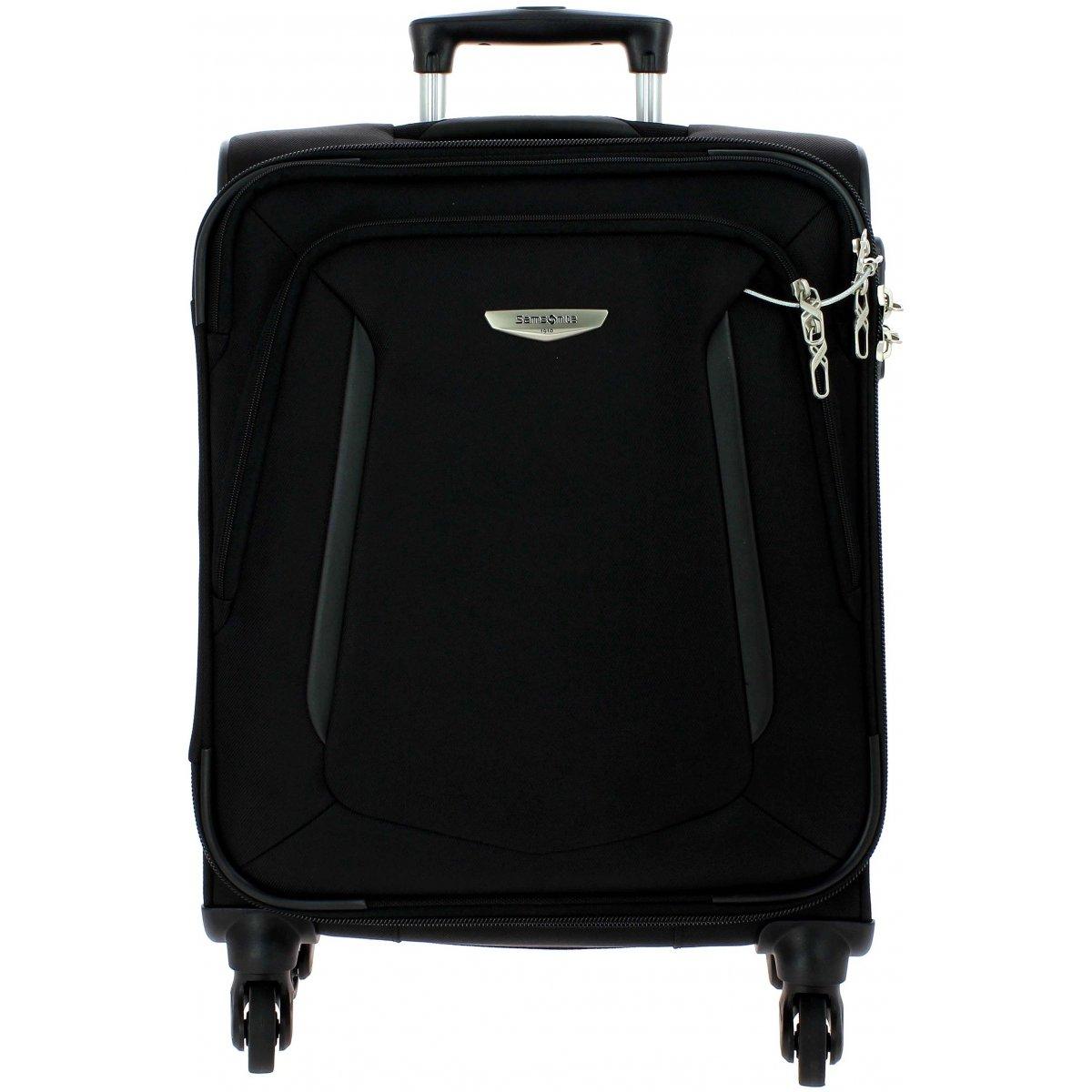 valise cabine samsonite x blade 55 cm xblade90 couleur principale black promotion. Black Bedroom Furniture Sets. Home Design Ideas