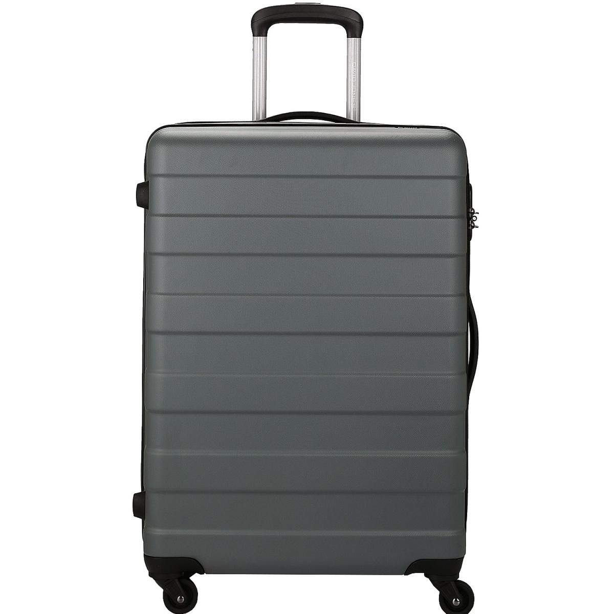 valise rigide david jones 66cm ba10161m couleur principale d grey promotion. Black Bedroom Furniture Sets. Home Design Ideas