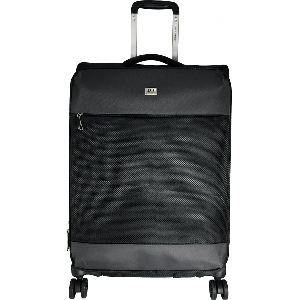 valise souple tsa david jones 63 cm taille m noir ba50441m couleur principale noir. Black Bedroom Furniture Sets. Home Design Ideas