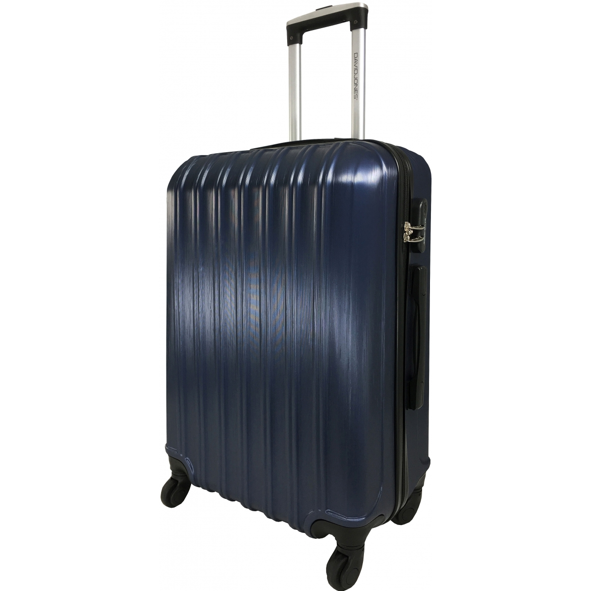 lot 3 valises dont 1 valise cabine david jones marine ba10293 couleur principale marine. Black Bedroom Furniture Sets. Home Design Ideas