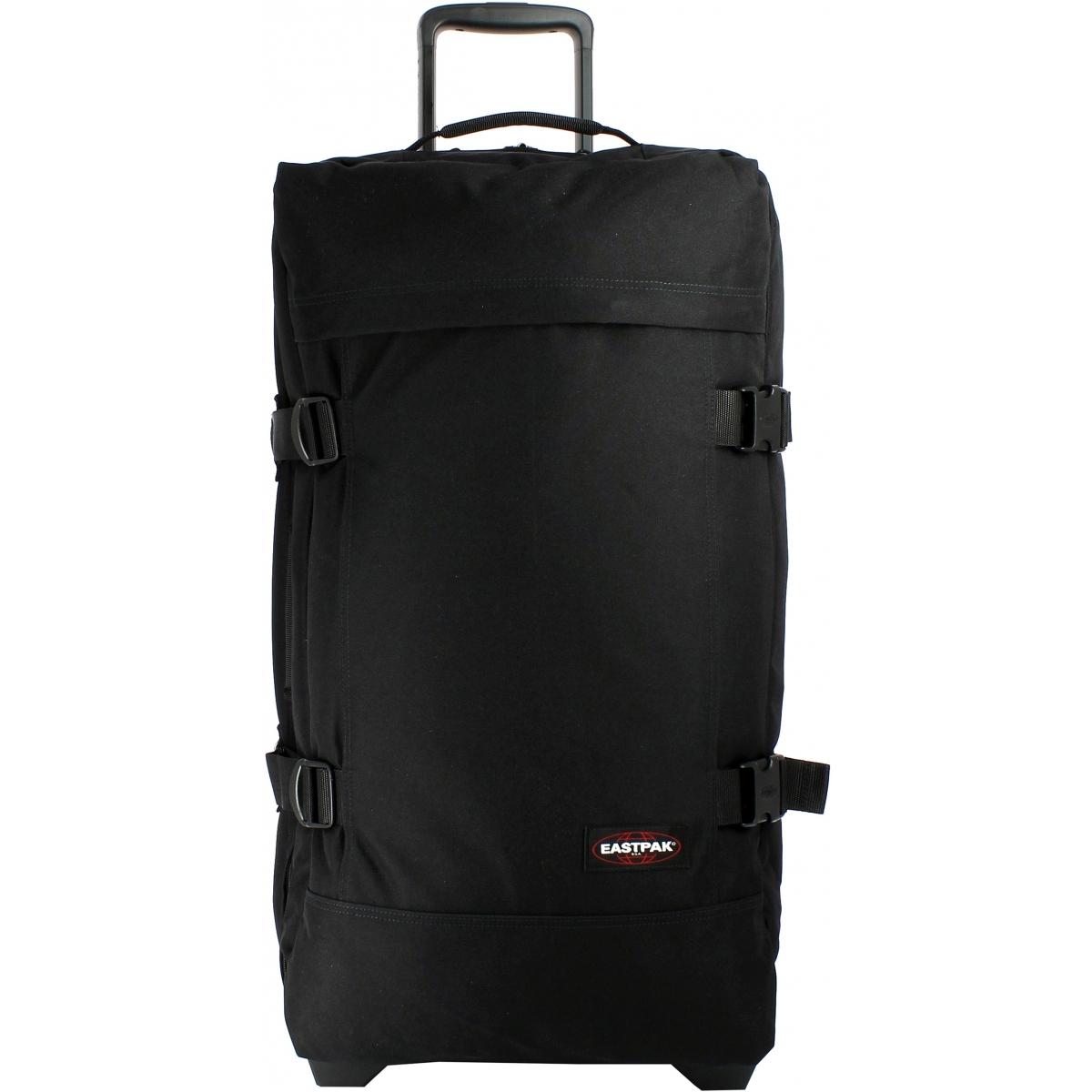 sac de voyage roulettes taille l eastpak ek63f008 couleur principale 008 black. Black Bedroom Furniture Sets. Home Design Ideas