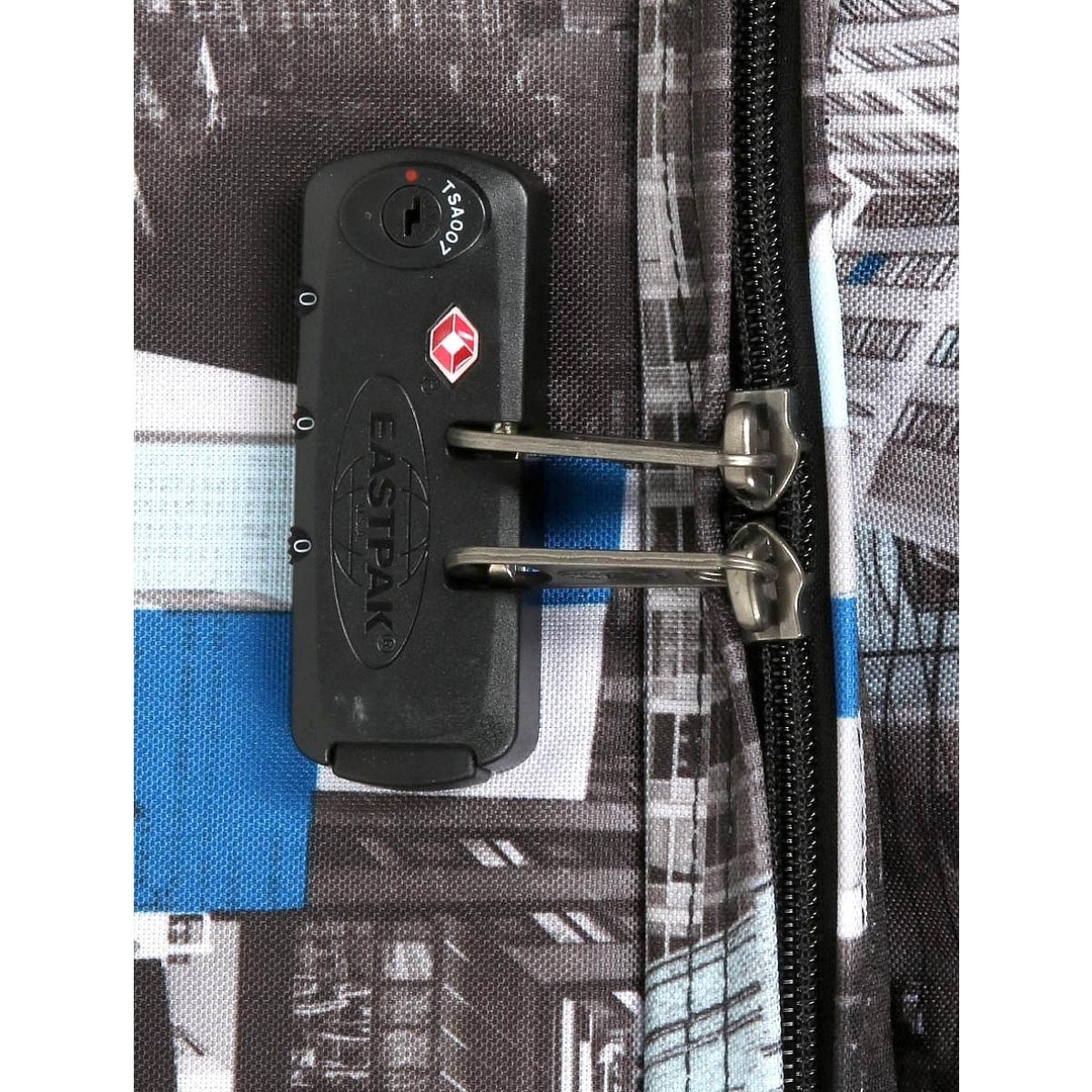 Sac de voyage à roulettes Eastpak Tranverz L TSA Chroblue