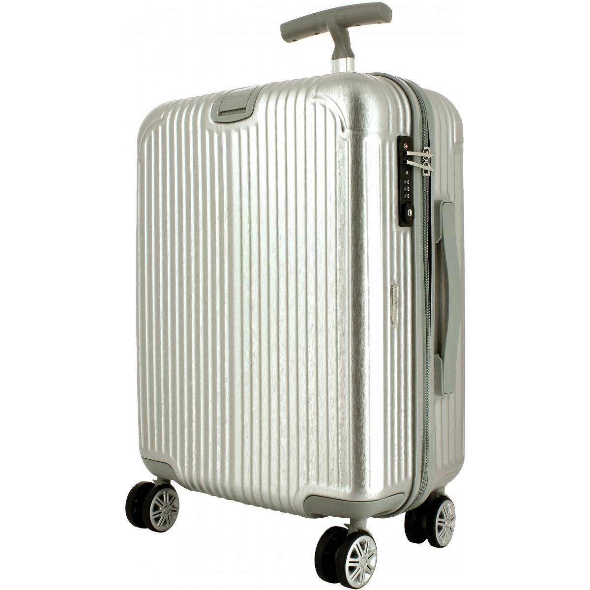 valise cabine rigide david jones tsa ba20631p couleur principale gris 11 promotion. Black Bedroom Furniture Sets. Home Design Ideas