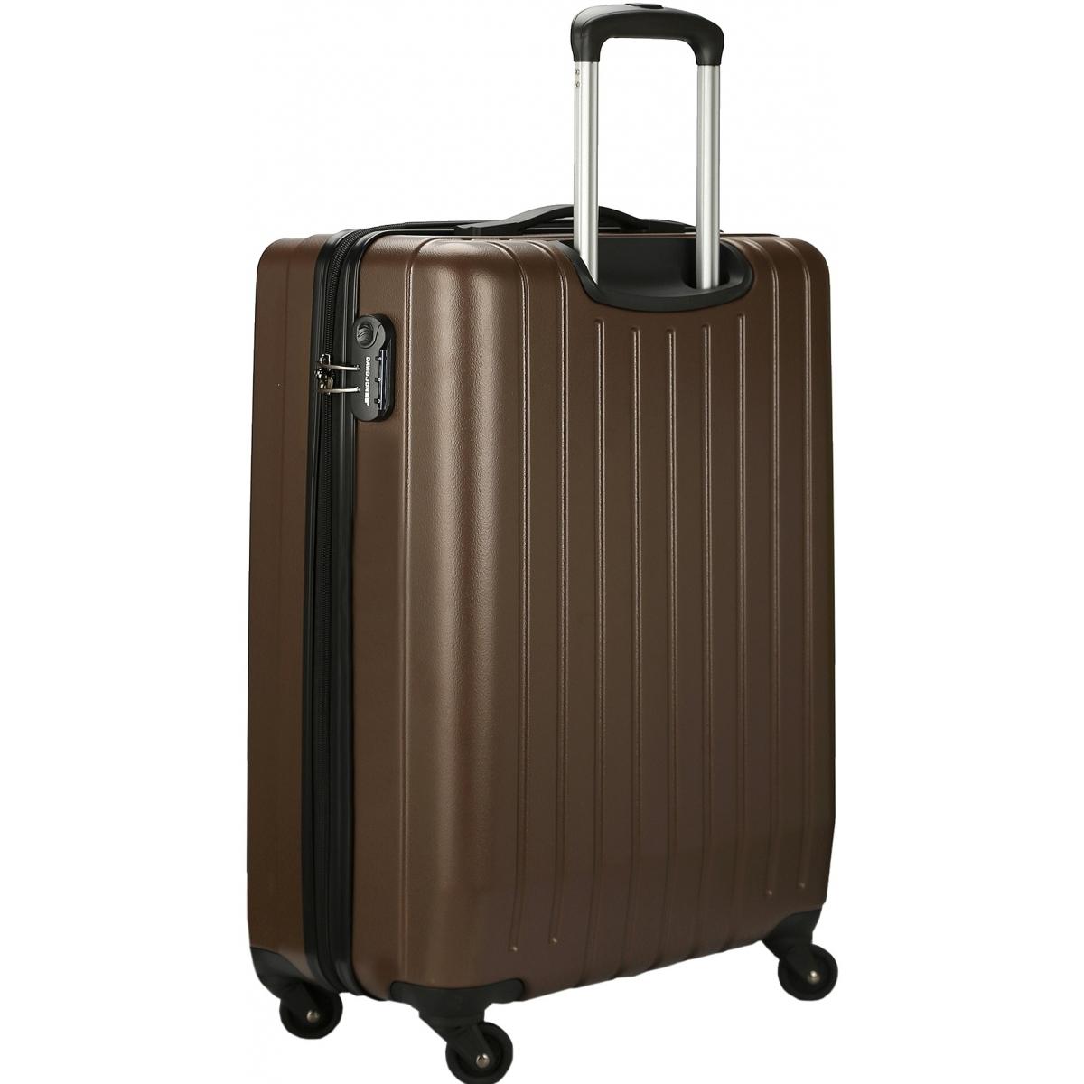 valise cabine rigide david jones 55cm ba10151p couleur principale brown valise pas cher. Black Bedroom Furniture Sets. Home Design Ideas
