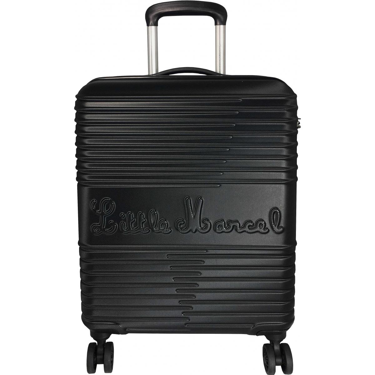 valise cabine little marcel 55 cm noir ba10201p couleur principale noir valise pas. Black Bedroom Furniture Sets. Home Design Ideas