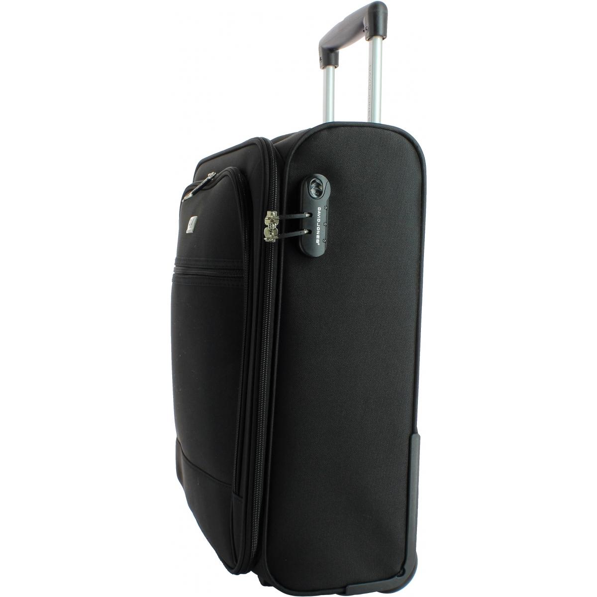valise cabine souple david jones 50cm r20031p couleur. Black Bedroom Furniture Sets. Home Design Ideas