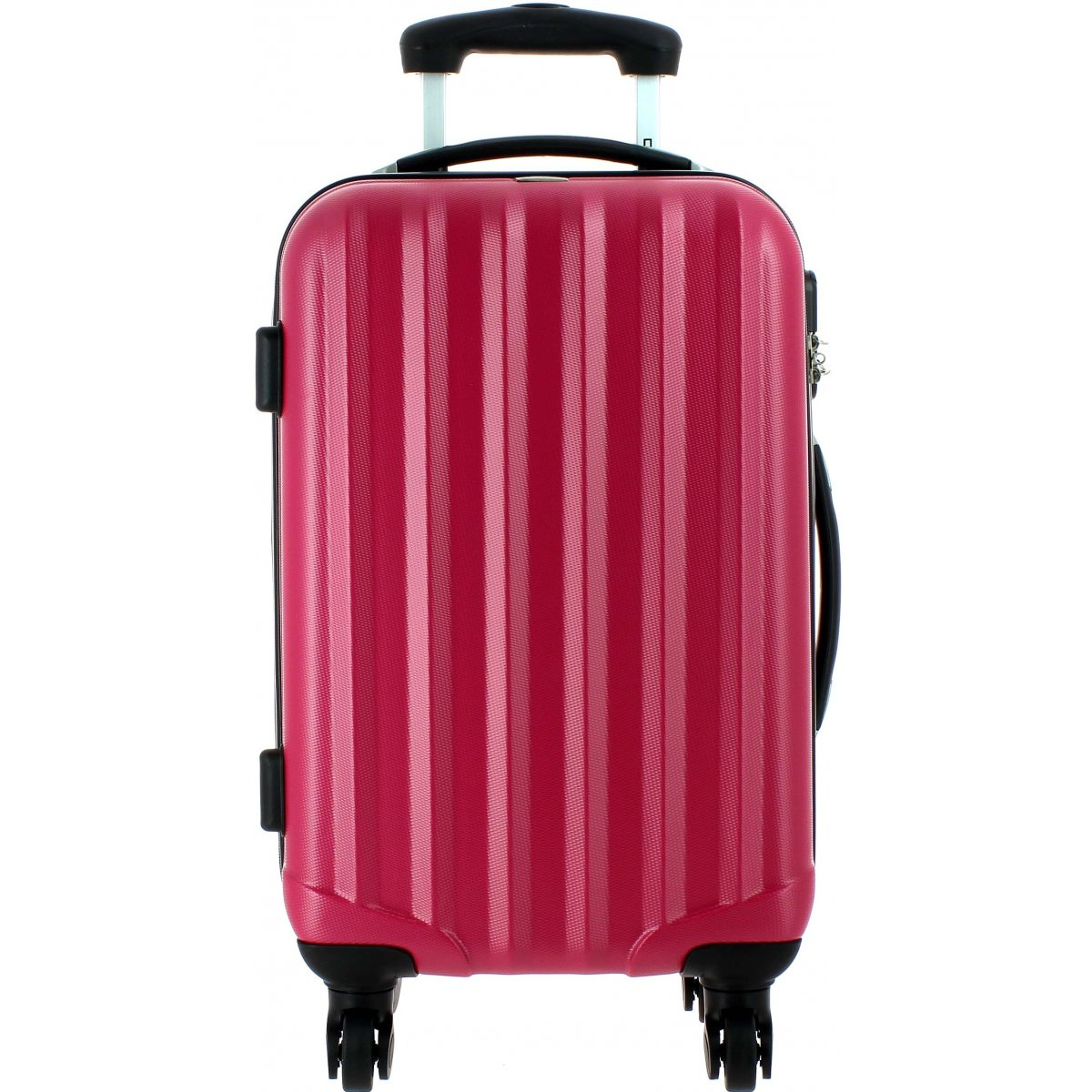 valise cabine david jones ba10111p couleur principale fushia promotion. Black Bedroom Furniture Sets. Home Design Ideas