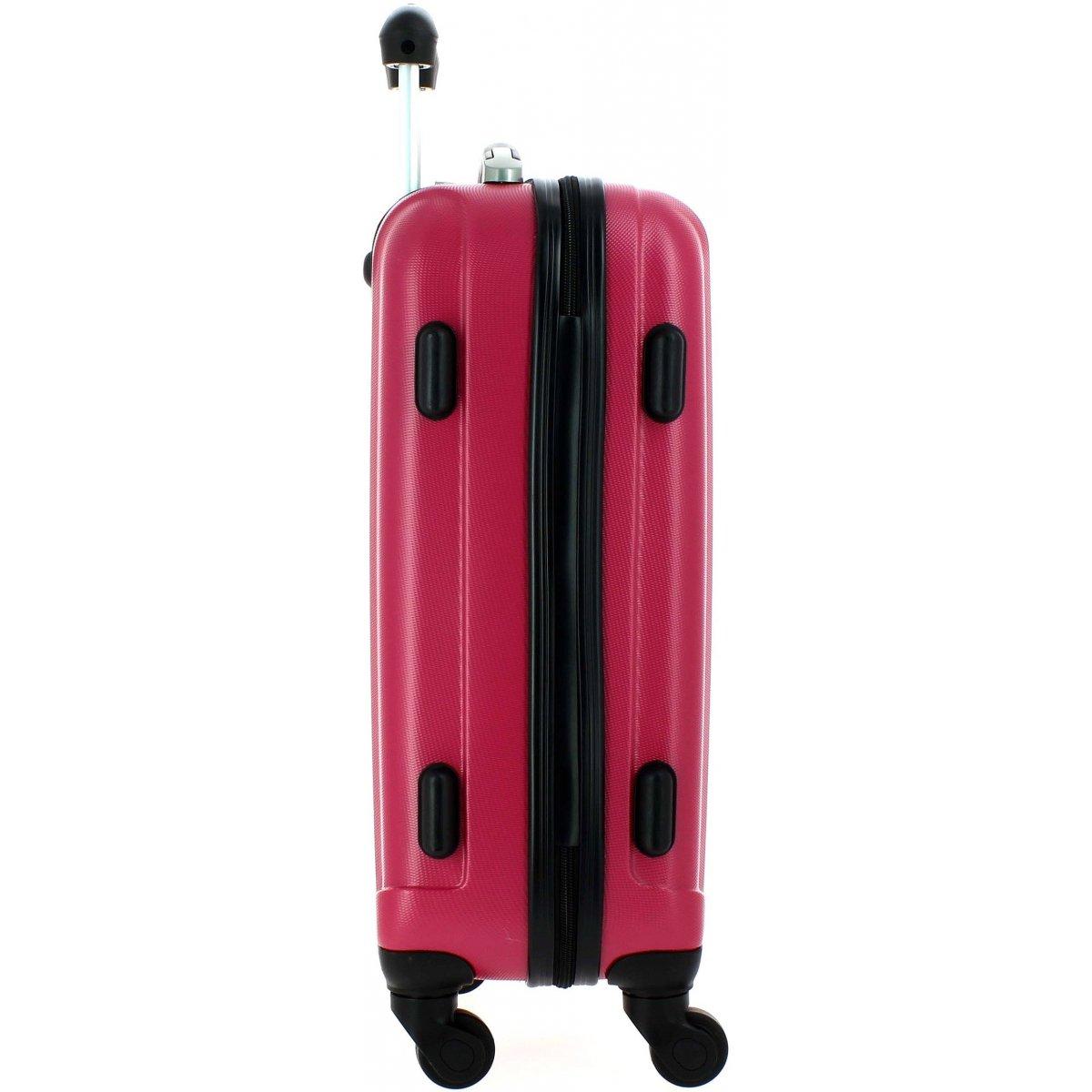 valise cabine david jones ba10111p couleur principale fushia promotion. Black Bedroom Furniture Sets. Home Design Ideas