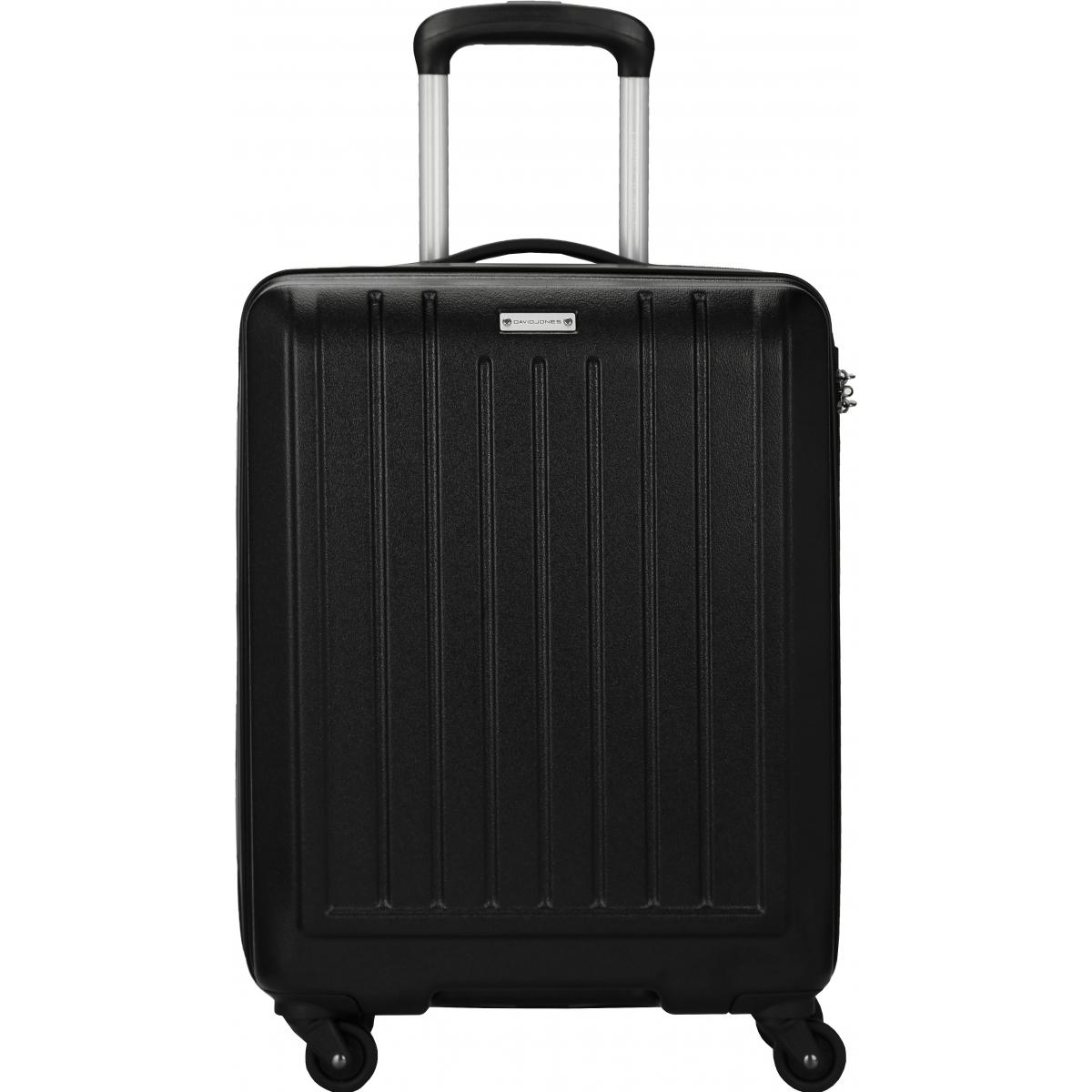valise cabine rigide david jones 55 cm ba10151p noir couleur principale black valise pas. Black Bedroom Furniture Sets. Home Design Ideas
