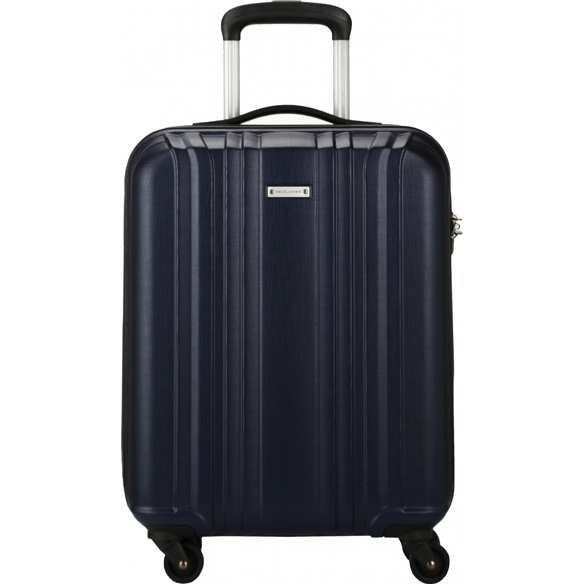 valise cabine rigide david jones 55cm ba10171p couleur principale blue promotion. Black Bedroom Furniture Sets. Home Design Ideas