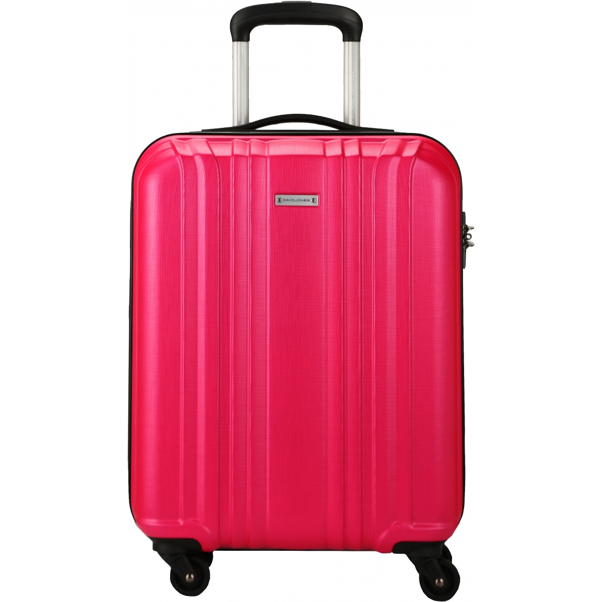 valise cabine rigide david jones 55cm ba10171p couleur principale fushia promotion. Black Bedroom Furniture Sets. Home Design Ideas