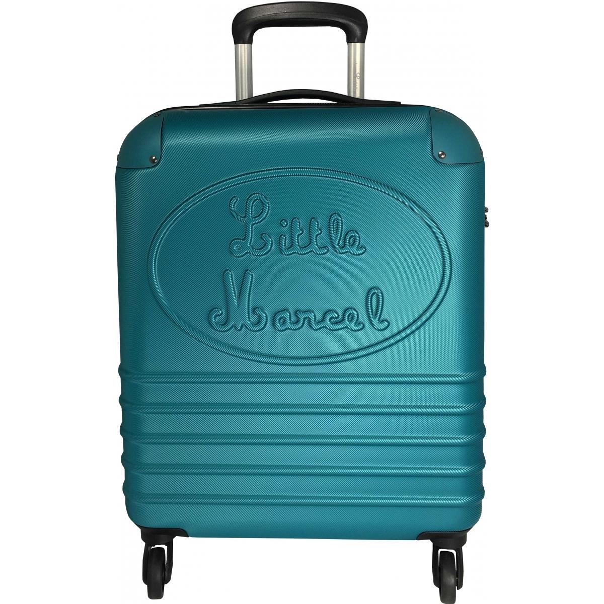 valise cabine little marcel 54 5 cm turquoise ba10221p couleur principale turquoise. Black Bedroom Furniture Sets. Home Design Ideas