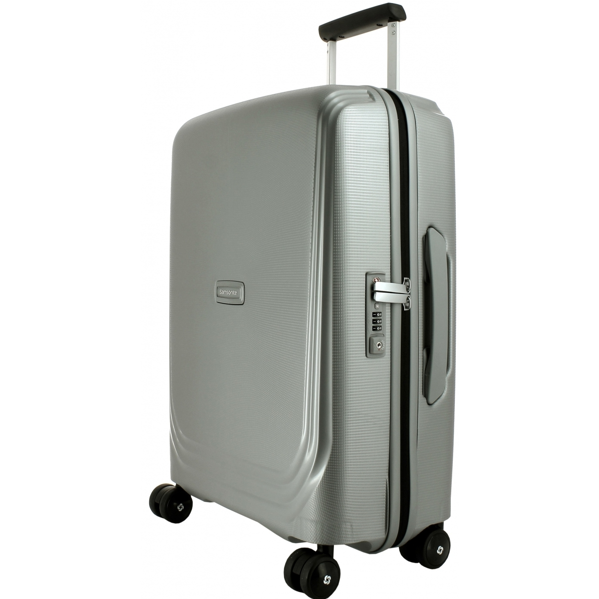 valise cabine optic spinner 55 20 samsonite optic86 couleur principale silver metallic. Black Bedroom Furniture Sets. Home Design Ideas