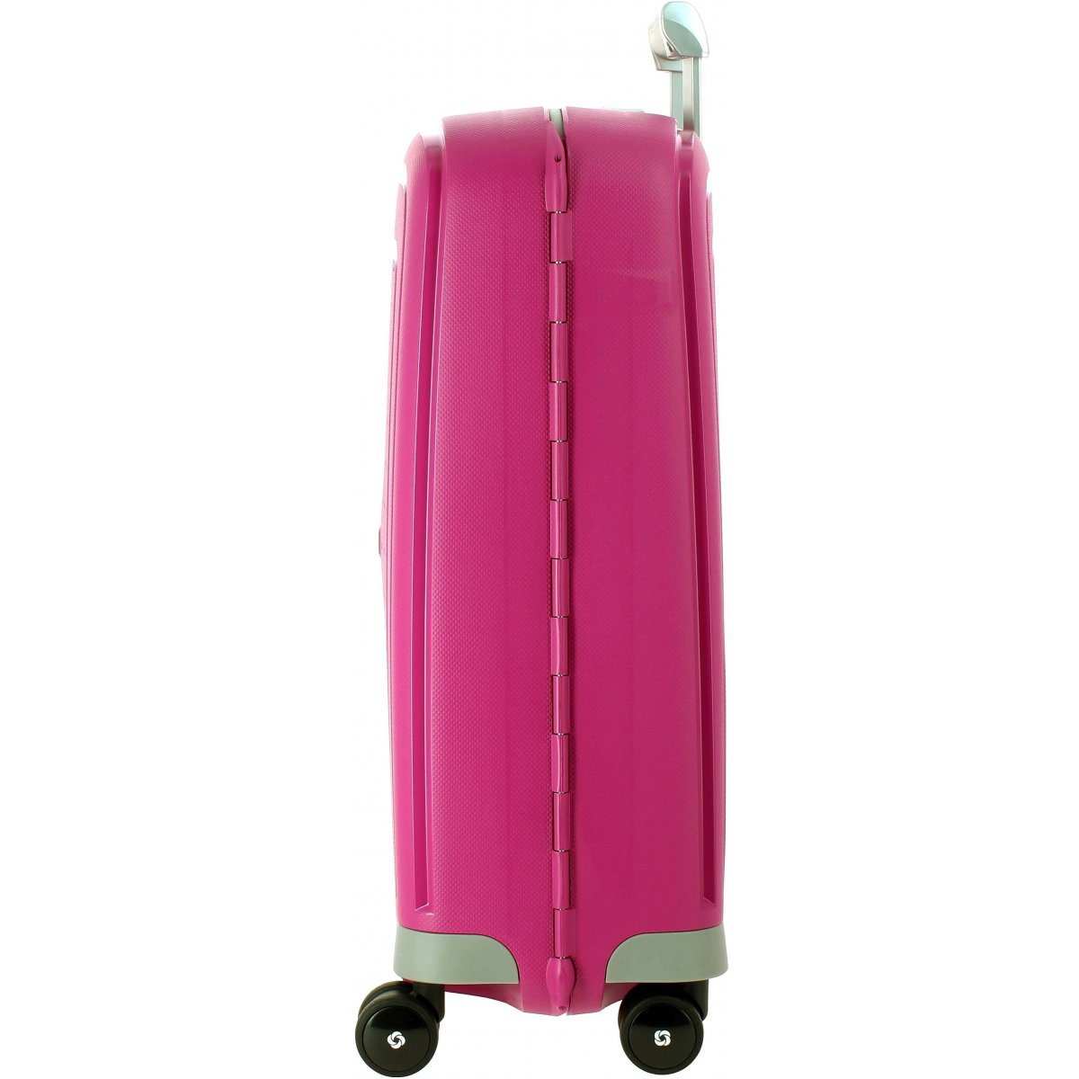 valise cabine samsonite s 39 cure spinner 55cm scure39 couleur principale fushia solde. Black Bedroom Furniture Sets. Home Design Ideas