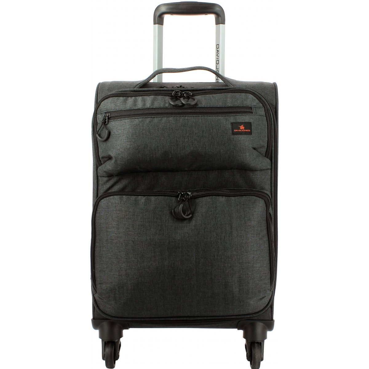 valise cabine souple david jones 55cm ba50311p couleur principale noir valise pas cher. Black Bedroom Furniture Sets. Home Design Ideas