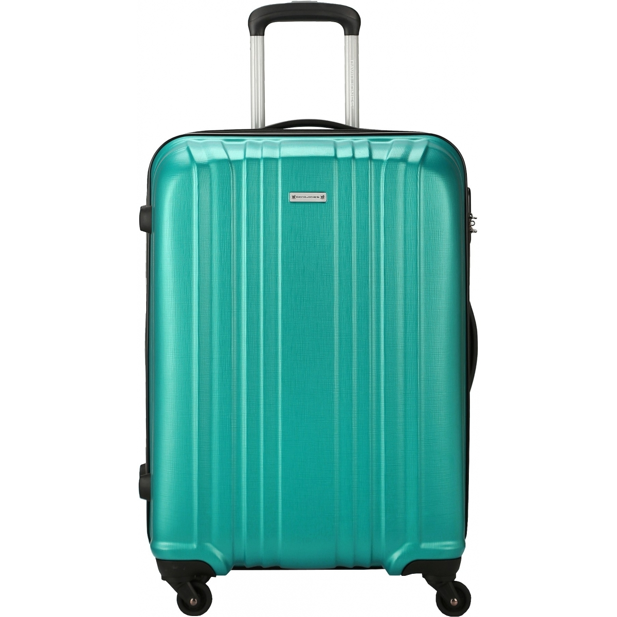 valise rigide david jones taille m 66cm ba10171m couleur principale turquoise promotion. Black Bedroom Furniture Sets. Home Design Ideas