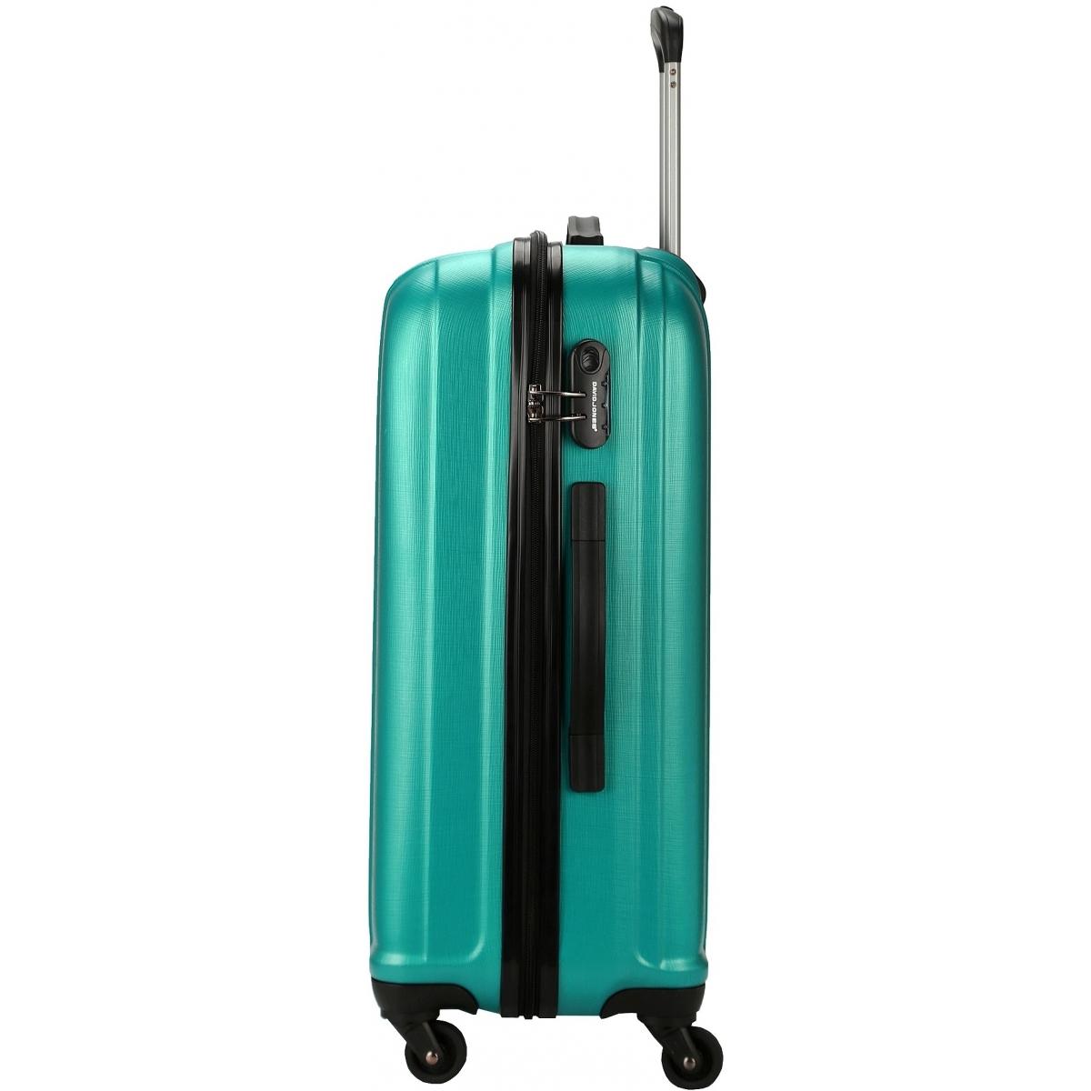 valise rigide david jones taille m 66cm ba10171m couleur principale turquoise valise pas. Black Bedroom Furniture Sets. Home Design Ideas