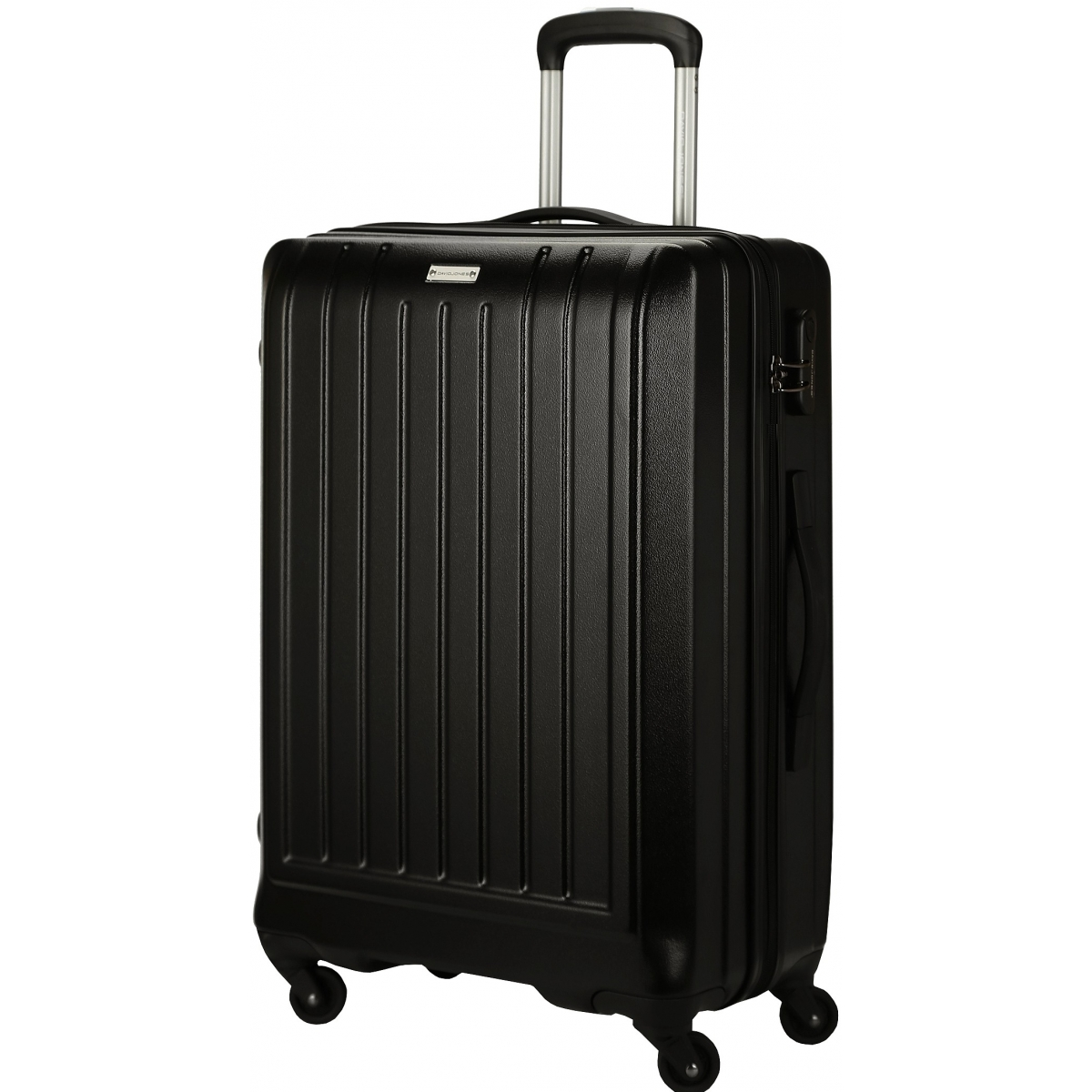 valise rigide david jones taille g 76cm ba10151g couleur principale black valise pas. Black Bedroom Furniture Sets. Home Design Ideas
