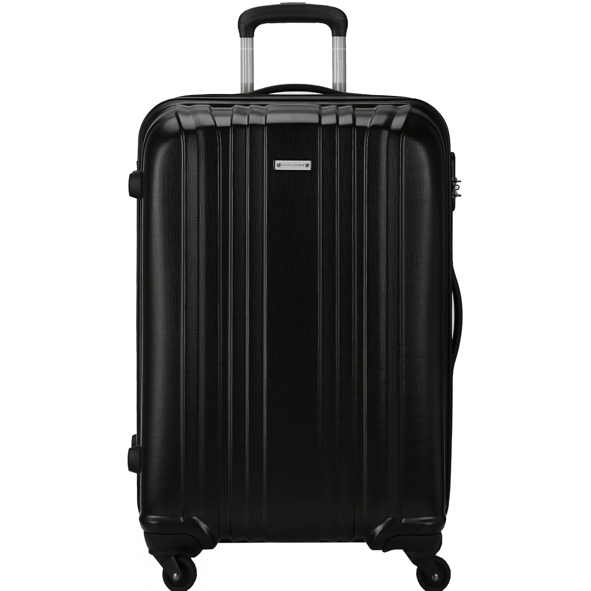 valise rigide david jones taille g 76cm ba10171g couleur principale black valise pas. Black Bedroom Furniture Sets. Home Design Ideas