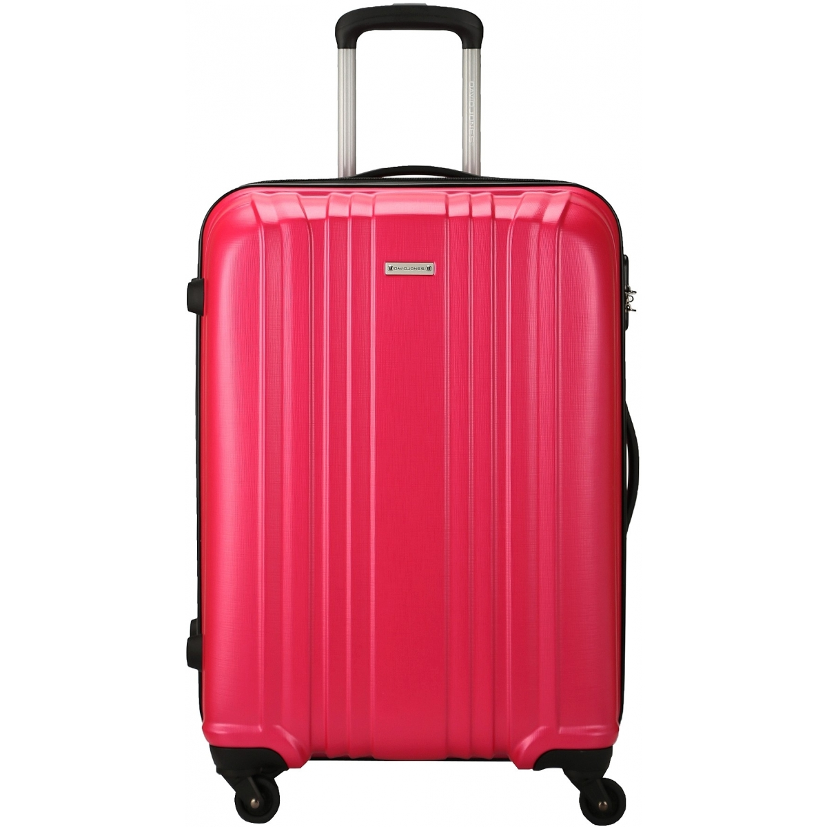 valise rigide david jones taille m 66cm ba10171m couleur principale fushia promotion. Black Bedroom Furniture Sets. Home Design Ideas