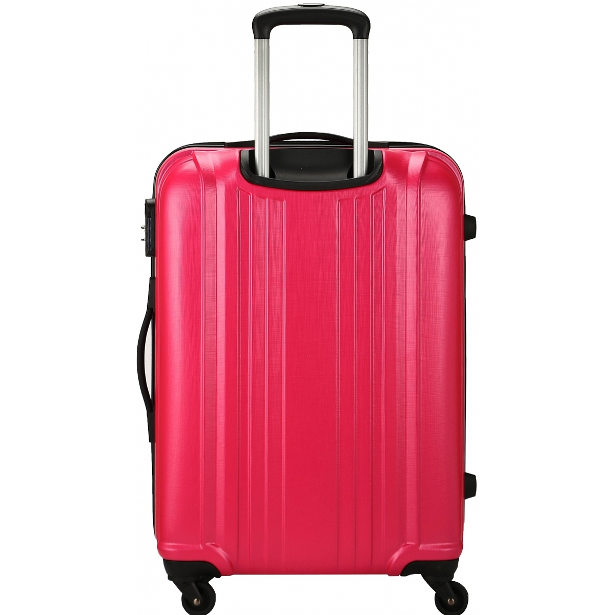 valise rigide david jones taille g 76cm ba10171g couleur principale fushia valise pas. Black Bedroom Furniture Sets. Home Design Ideas
