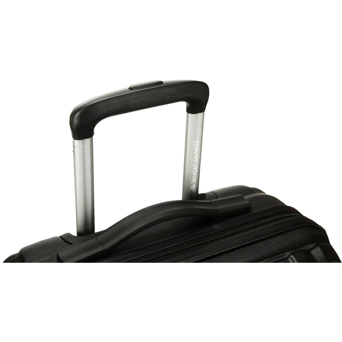 valise rigide david jones taille g 76cm ba10171g couleur principale black valise pas. Black Bedroom Furniture Sets. Home Design Ideas