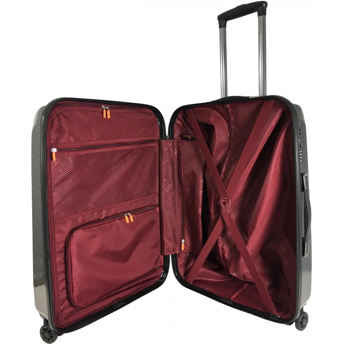 valise rigide david jones grande taille 77 cm noir ba20691g couleur principale noir. Black Bedroom Furniture Sets. Home Design Ideas
