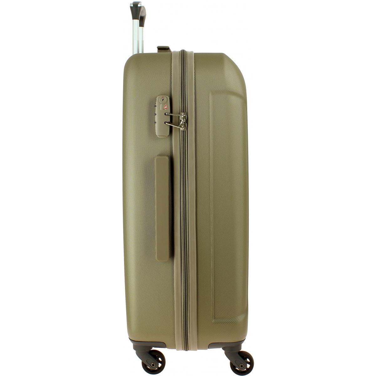 valise delsey cineos 76cm cineos821 couleur principale beige clair valise pas cher. Black Bedroom Furniture Sets. Home Design Ideas