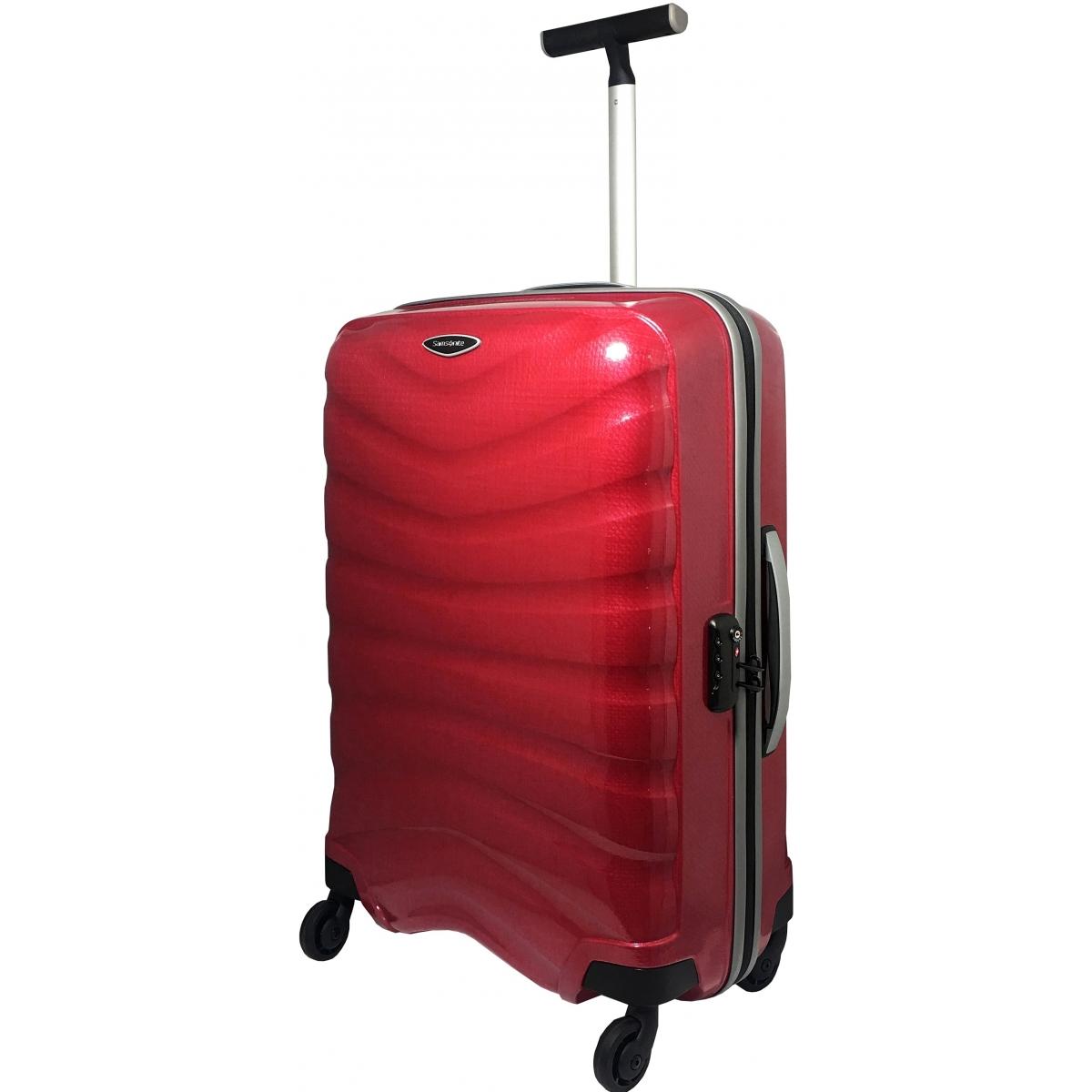 valise samsonite firelite spinner 69 cm taille m rouge firelite80 couleur principale. Black Bedroom Furniture Sets. Home Design Ideas