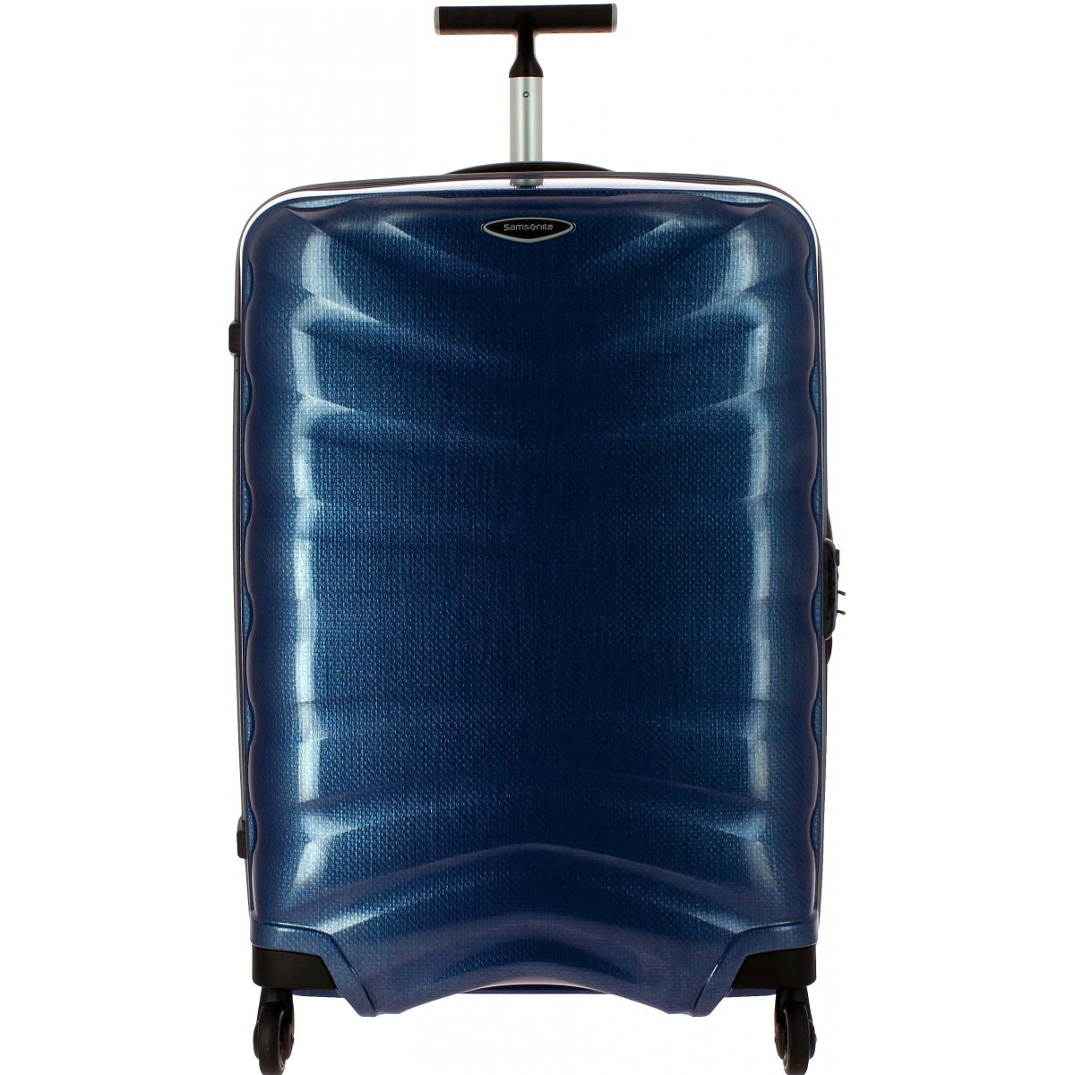 valise samsonite firelite spinner 75 cm firelite61 couleur principale dark blue solde. Black Bedroom Furniture Sets. Home Design Ideas