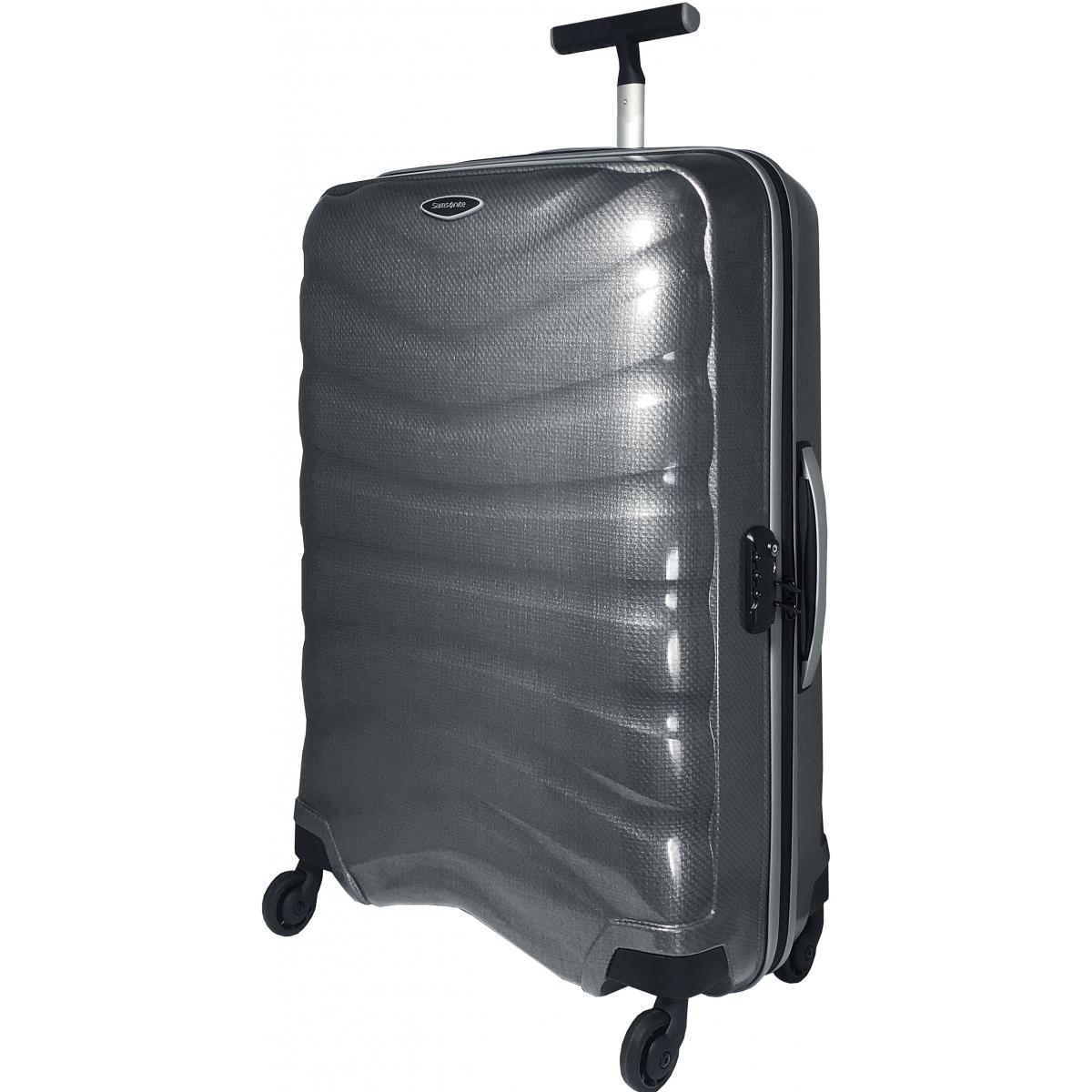 valise samsonite firelite spinner 81 cm taille xl gris firelite84 couleur principale. Black Bedroom Furniture Sets. Home Design Ideas