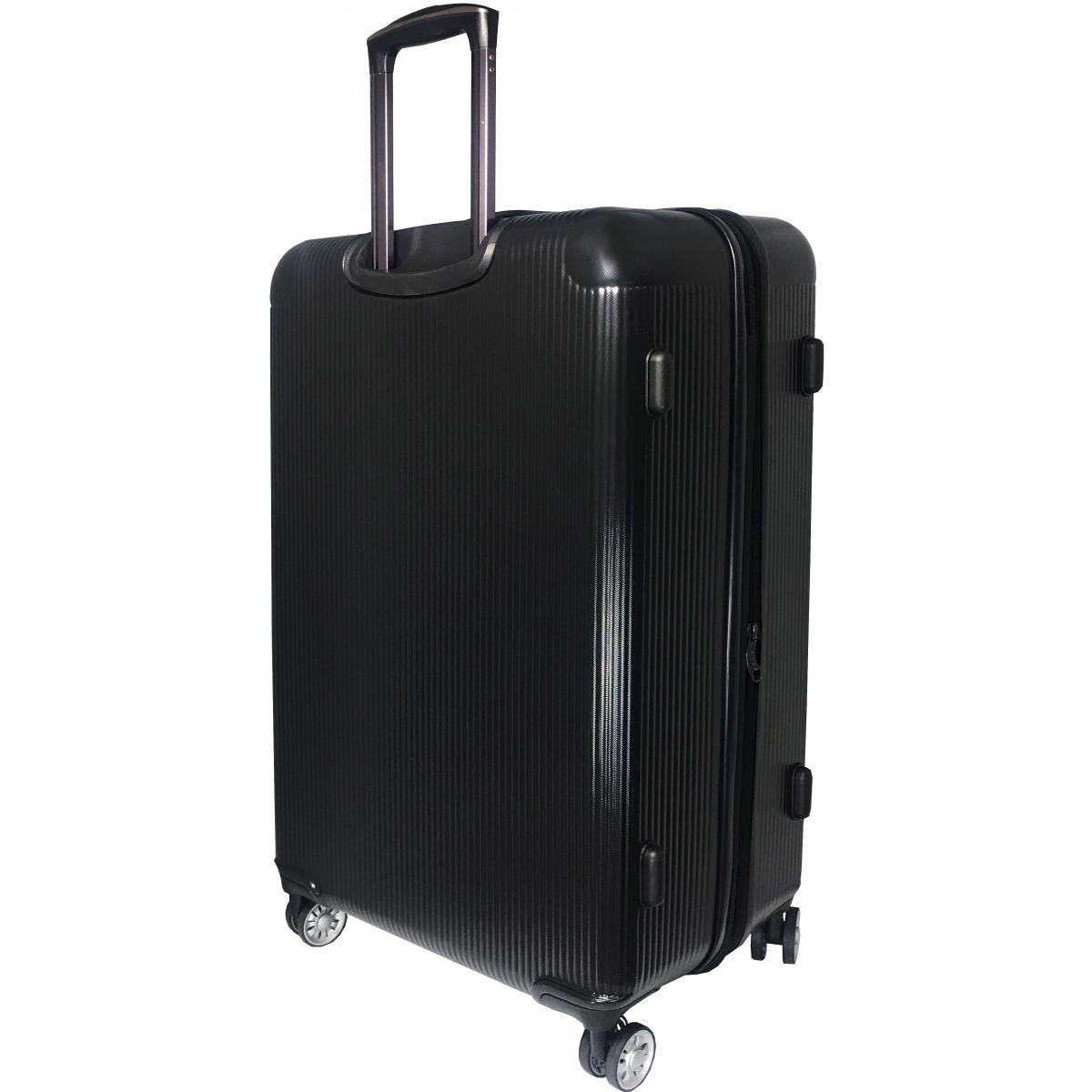 valise rigide david jones tsa abs 77 cm grande taille ba10251g noir couleur principale. Black Bedroom Furniture Sets. Home Design Ideas